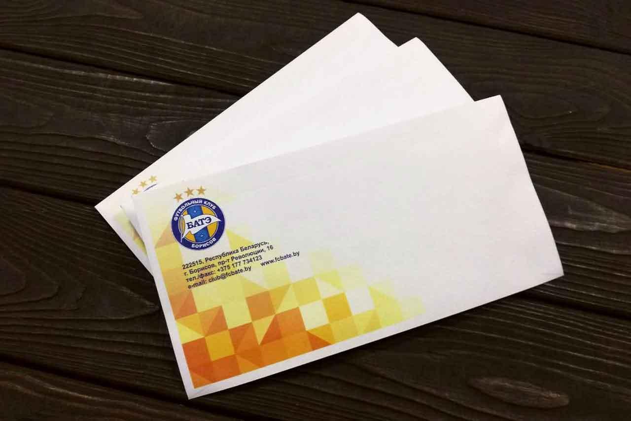 заказать конверты