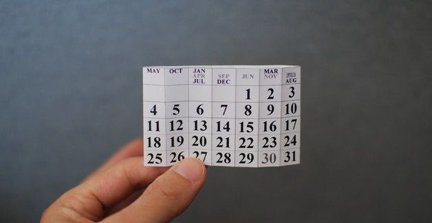календарь ролл