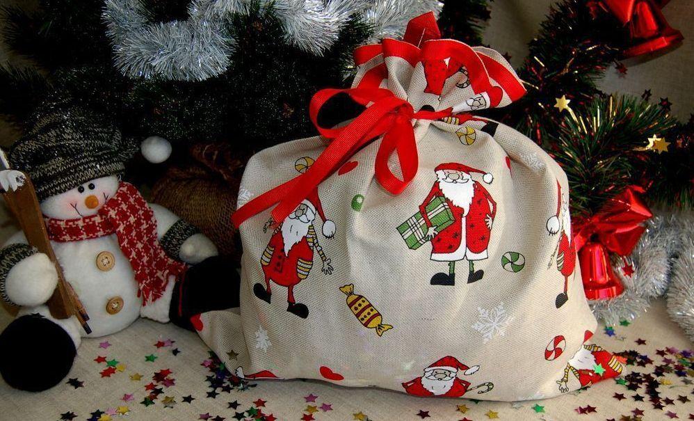 подарочные пакеты из ткани