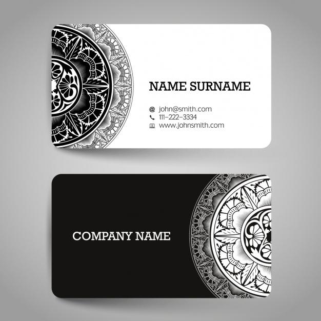 где напечатать черно-белые визитки