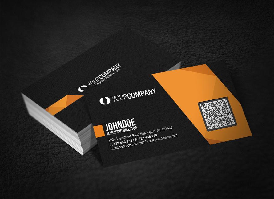 qr код визитка на русском