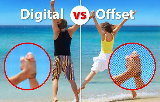 Чем отличается офсетная печать от цифровой?